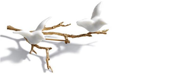 Брошь с птицами, Lladró, www.lladro.com