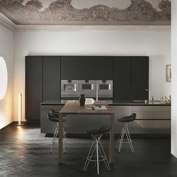 Черный цвет на кухне: 8 приемов (фото 8)