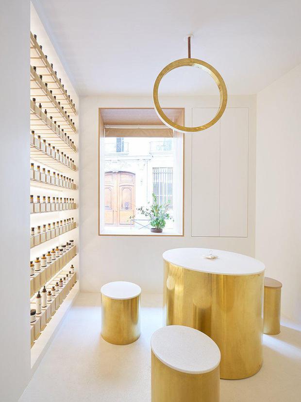 Сияние золота: салон красоты и бутик в Париже (фото 3)