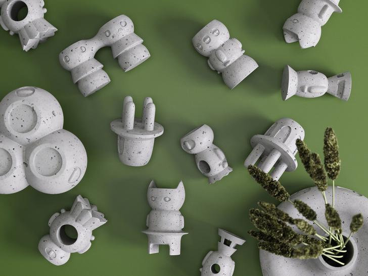 Они прилетели! Коллекция подсвечников и ваз от белорусских дизайнеров (фото 3)