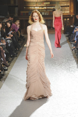 Показы мод Luisa Beccaria Осень-зима 2010-2011 | Подиум на ELLE - Подиум - фото 2742