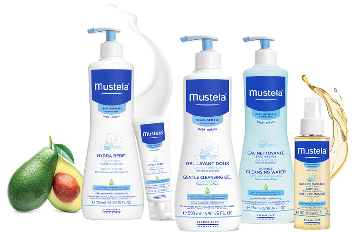 Средства Mustela по уходу за кожей фото