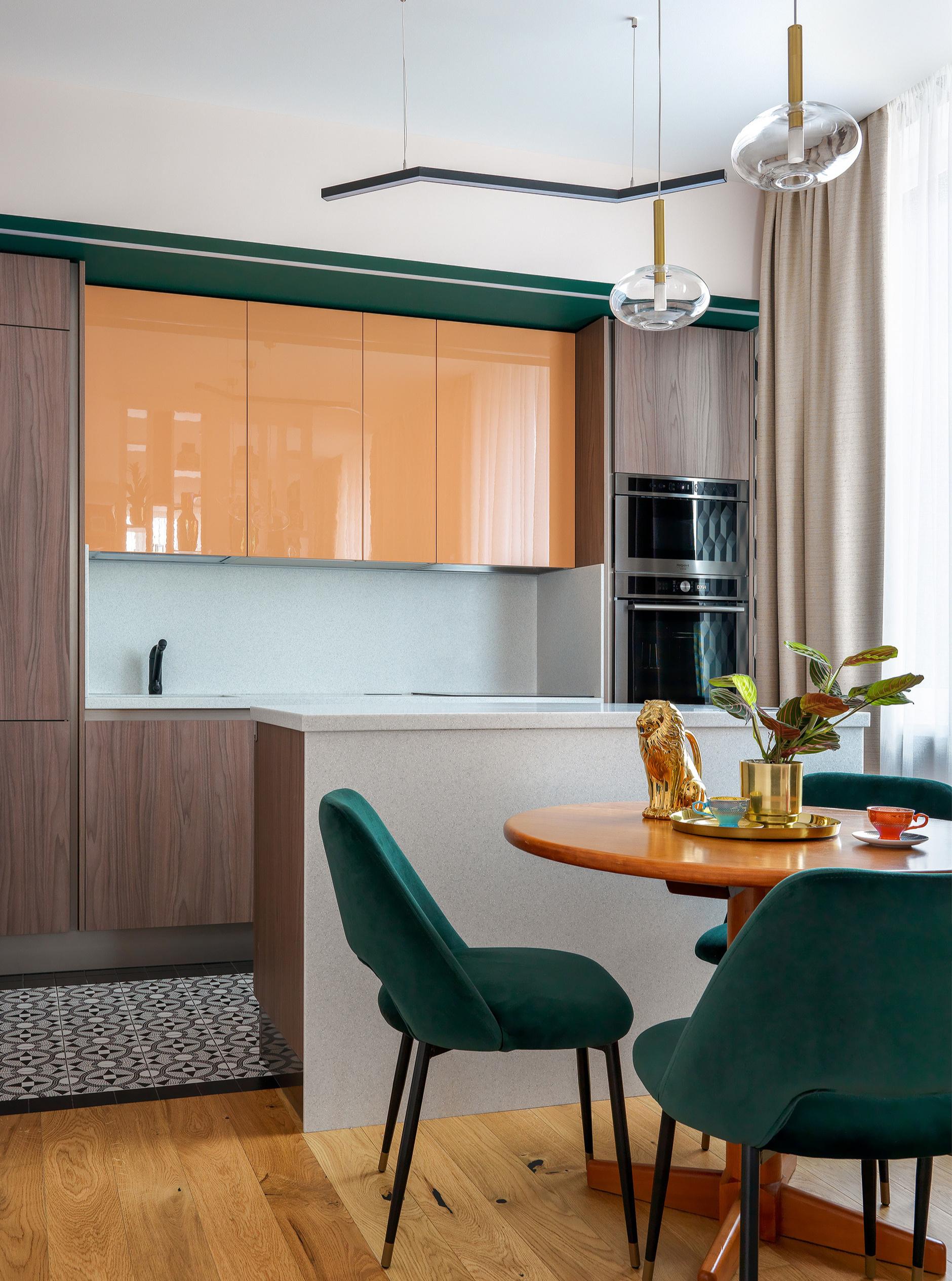 Маленькие кухни: 30+ вдохновляющих примеров (галерея 1, фото 2)