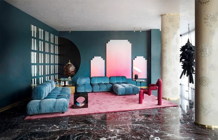 Интерьер с обложки: квартира архитектора   Луки Бомбассеи в Милане (фото 6)