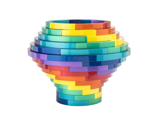 Радужные мечты: мебель и предметы всех цветов радуги (фото 0)