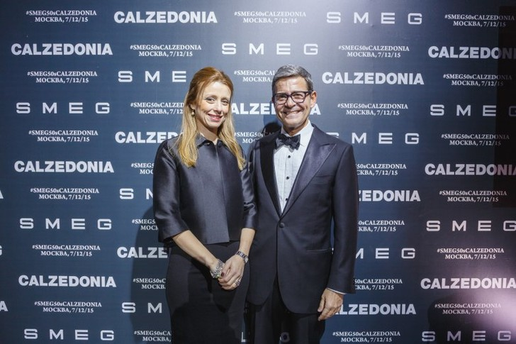 Знаменитости на вечеринке Calzedonia и SMEG