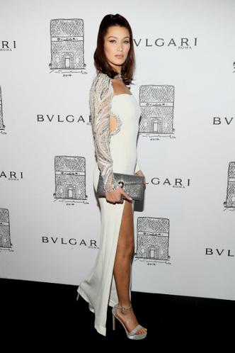 Белла Хадид на вечеринке Bulgari в Нью-Йорке фото [2]