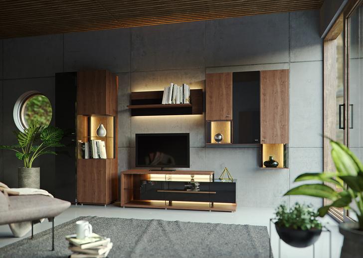 Коллекция мебели для гостиной Rum&Cola (Ром и Кола)