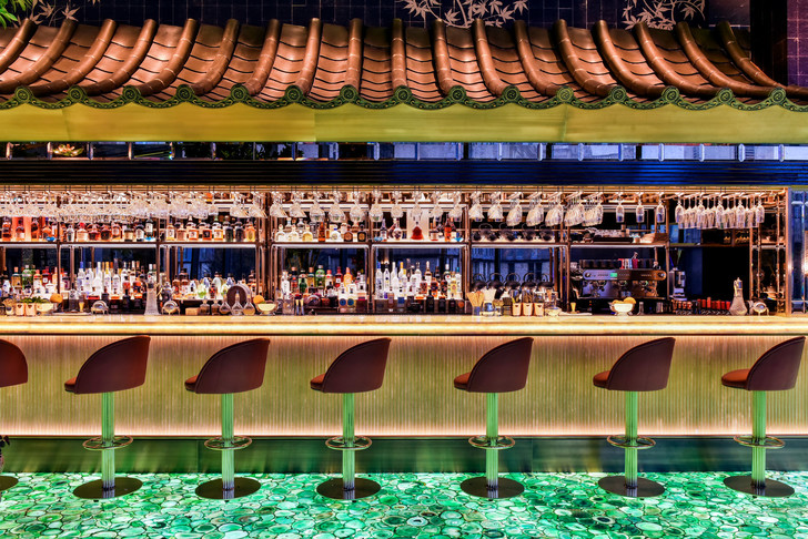Ресторан The Ivy Asia в центре Лондона (фото 6)