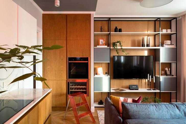 Современная квартира 75 м² для молодой девушки (фото 3)