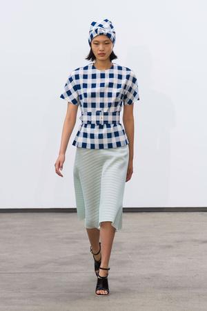 Показы мод Derek Lam Весна-лето 2014 | Подиум на ELLE - Подиум - фото 3525