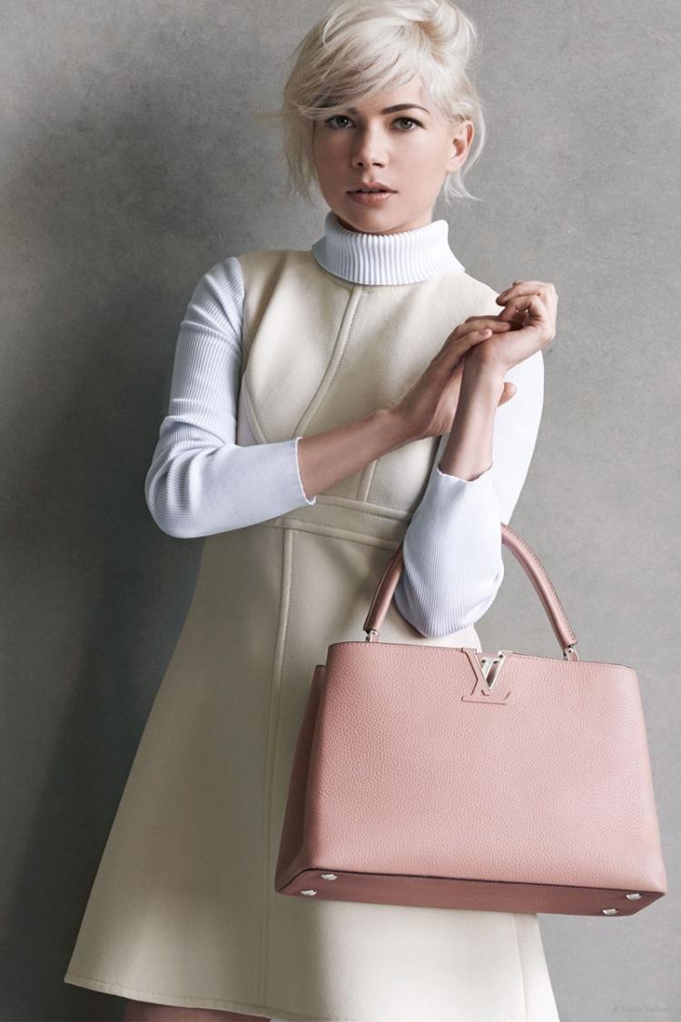 9263e25cbbb2 Мишель Уильямс в рекламе Louis Vuitton   Новости на www.elle.ru