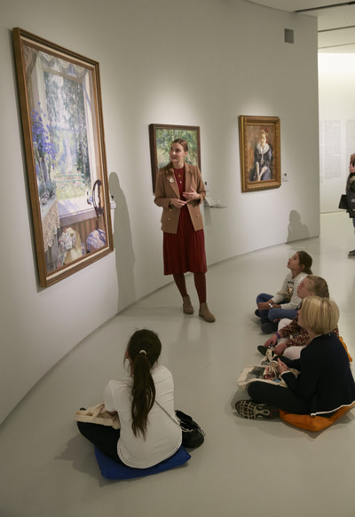 Интерактивная экскурсия ELLE Kids в Музее русского импрессионизма (галерея 2, фото 13)