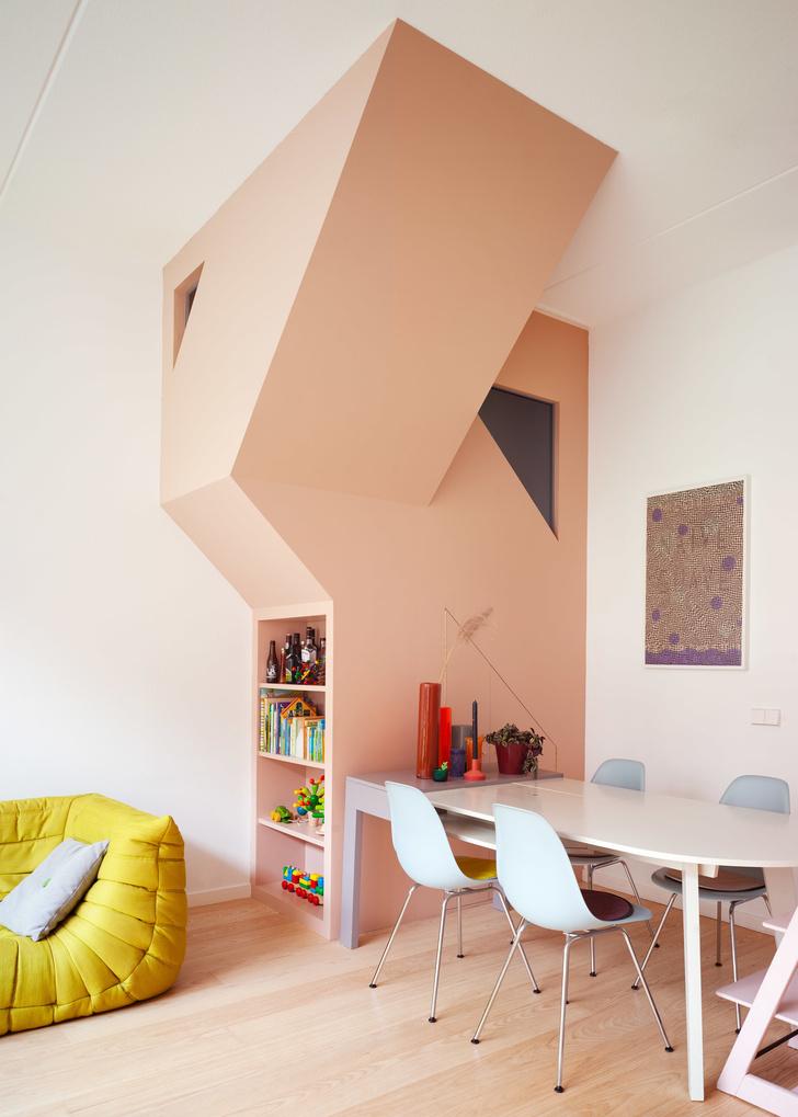 цветной дом в Роттердаме (фото 18)