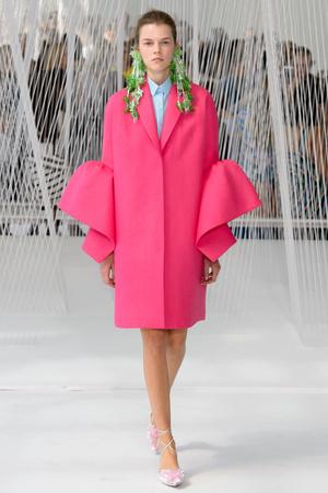 Показы мод Delpozo Весна-лето  2017 | Подиум на ELLE - Подиум - фото 4599
