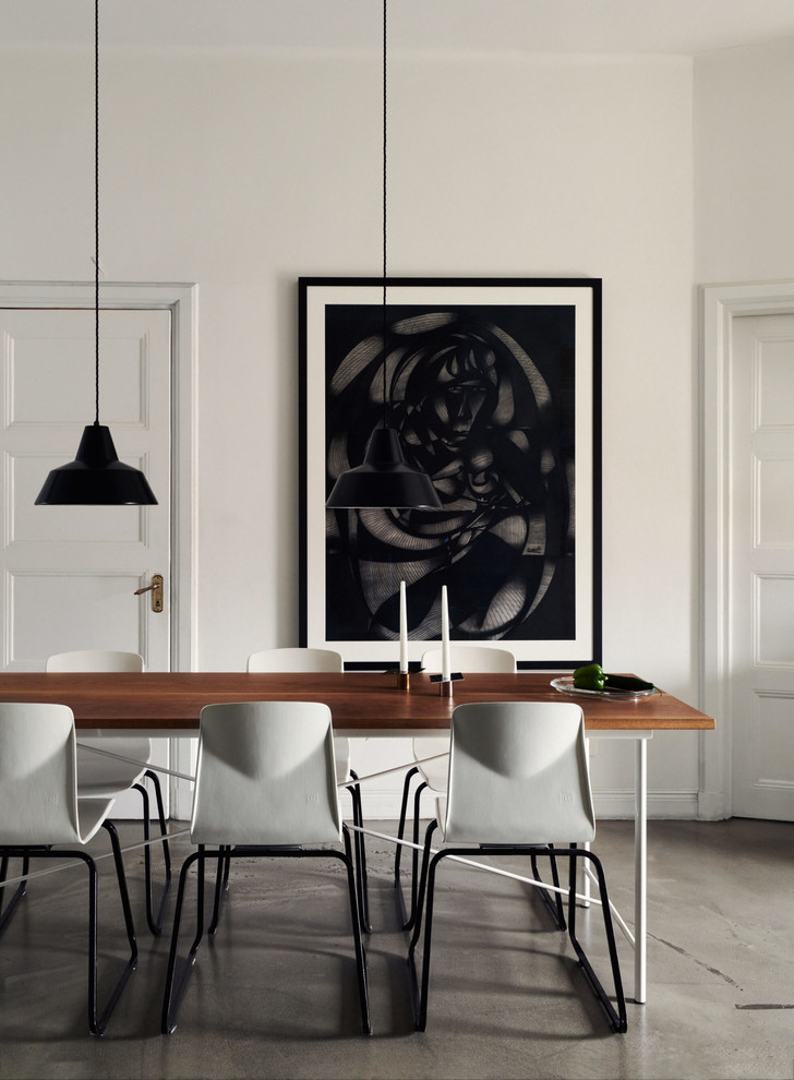 Монохромная квартира для дизайнера в Стокгольме (фото 7)