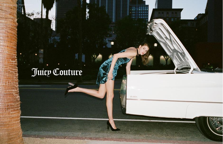 Рекламная кампания Juicy Couture