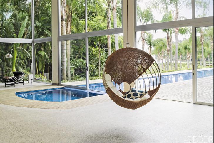 15 восхитительных проектов бассейнов для загородного дома (фото 8)