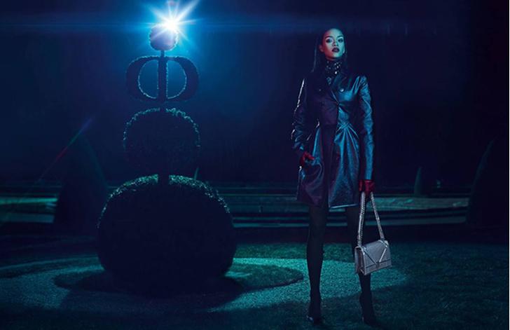 Рианна рекламирует Christian Dior
