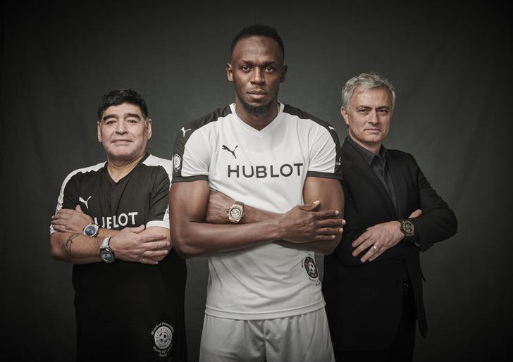 Hublot провел дружеский футбольный матч с легендами спорта (фото 3)