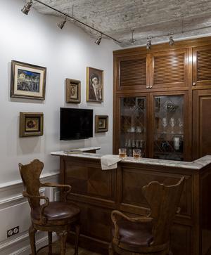 Квартира в классическом стиле на Чистых прудах: проект Дарьи Руссу (фото 14)