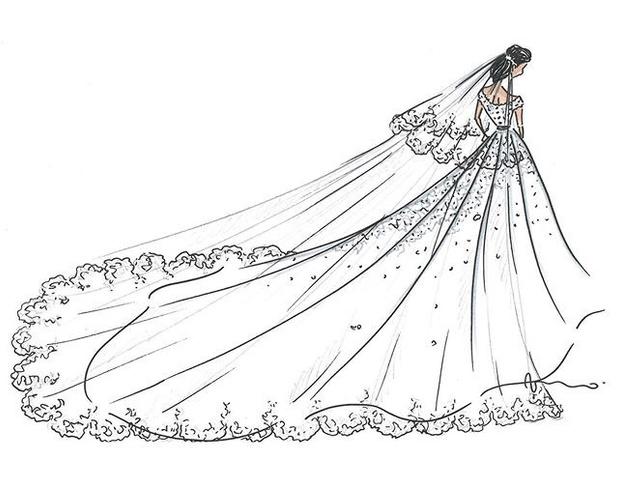 Второе свадебное платье новой принцессы Монако (фото 3)