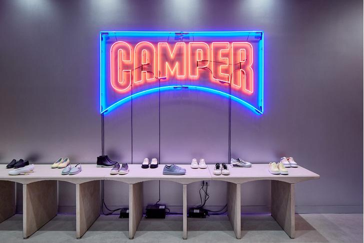 Нью-йоркский бутик Camper по проекту Кенго Кумы (фото 10)