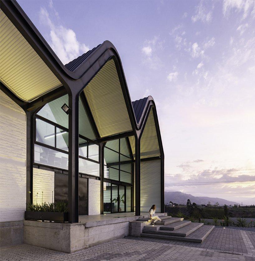 Дом с необычной крышей в Эквадоре (галерея 6, фото 4)