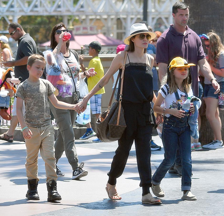 Анджелина Джоли будет мамой в 7-мой раз
