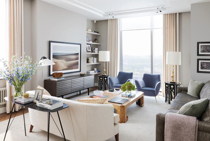 Торшер в гостиной: 25 примеров (галерея 1, фото 22)