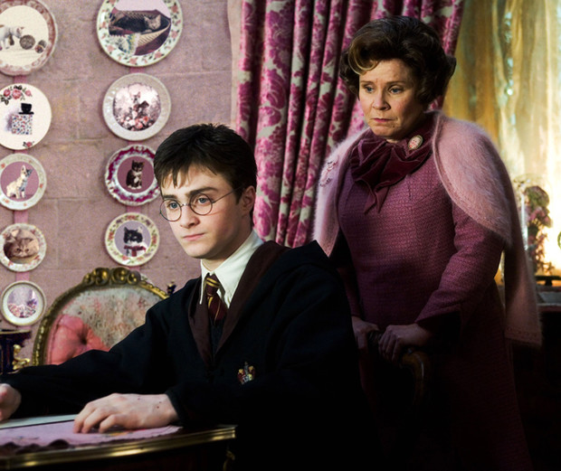 Гарри Поттер и Долорес Амбридж
