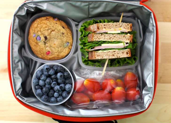Что дать ребенку с собой на обед в школу
