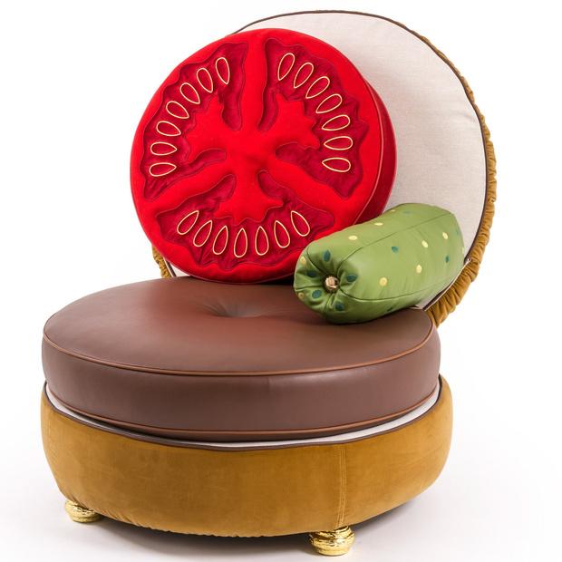 Вкус сезона: «Cъедобная» мебель от Studio Job для марки Seletti фото [1]
