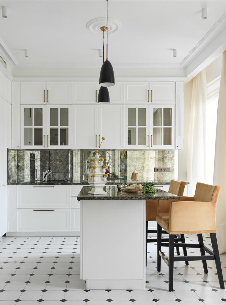 Квартира для семьи с тремя детьми в классическом стиле 140 м² (фото 7)