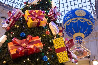 Сказочные декорации новогоднего ГУМа (галерея 4, фото 1)