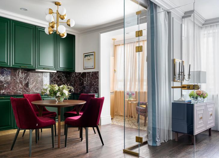 Квартира в Москве 46 м²: яркая классика (фото 5)