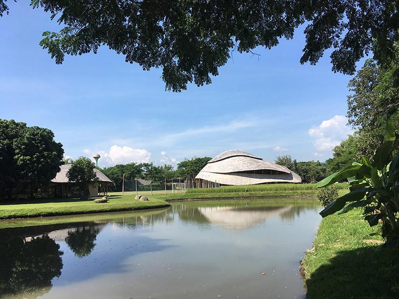 В Таиланде построили спортзал из бамбука | галерея [1] фото [3]