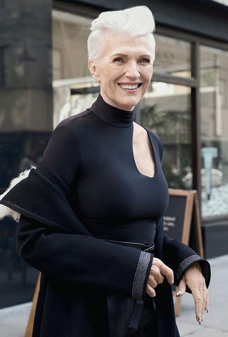 69-летняя мать Илона Маска стала лицом косметического бренда фото [2]