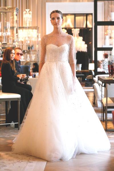Пышные свадебные платья 2015 4