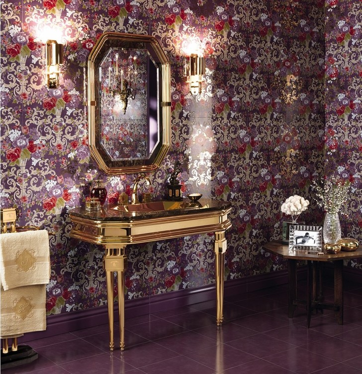 Топ-10: ванная комната в золотом цвете (фото 10)