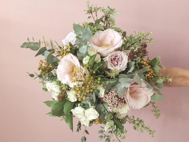 Мастер-класс: осенний букет из диких цветов (фото 39)