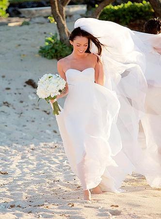 звездные свадьбы меган фокс и брайан остин грин