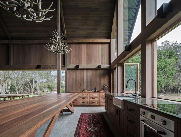 Домик в деревне: загородный дом в стиле Барнхаус в Австралии (фото 8)