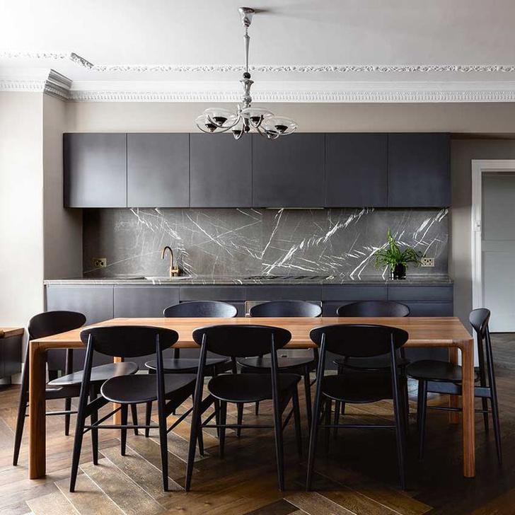 Черный цвет на кухне: 8 приемов (фото 10)