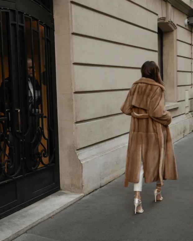 Париж. 8-й округ: как француженки носят шубы (фото 17)
