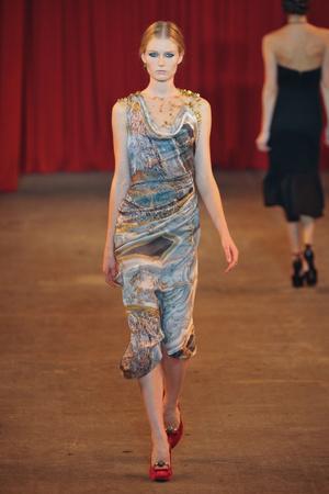 Показы мод Christian Siriano Осень-зима 2013-2014 | Подиум на ELLE - Подиум - фото 884