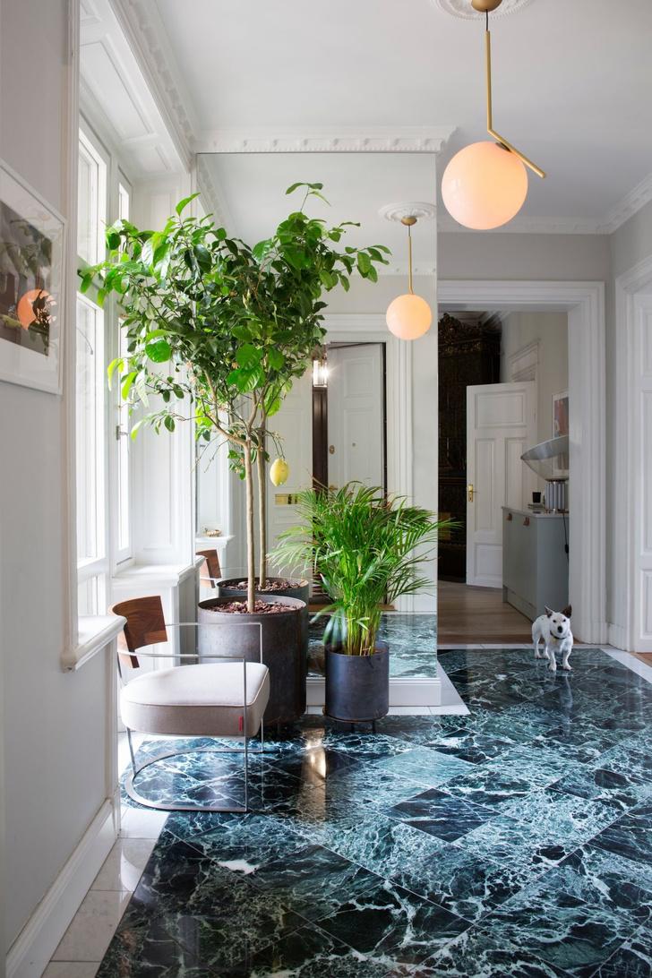 Эклектичный интерьер квартиры в Стокгольме (фото 0)