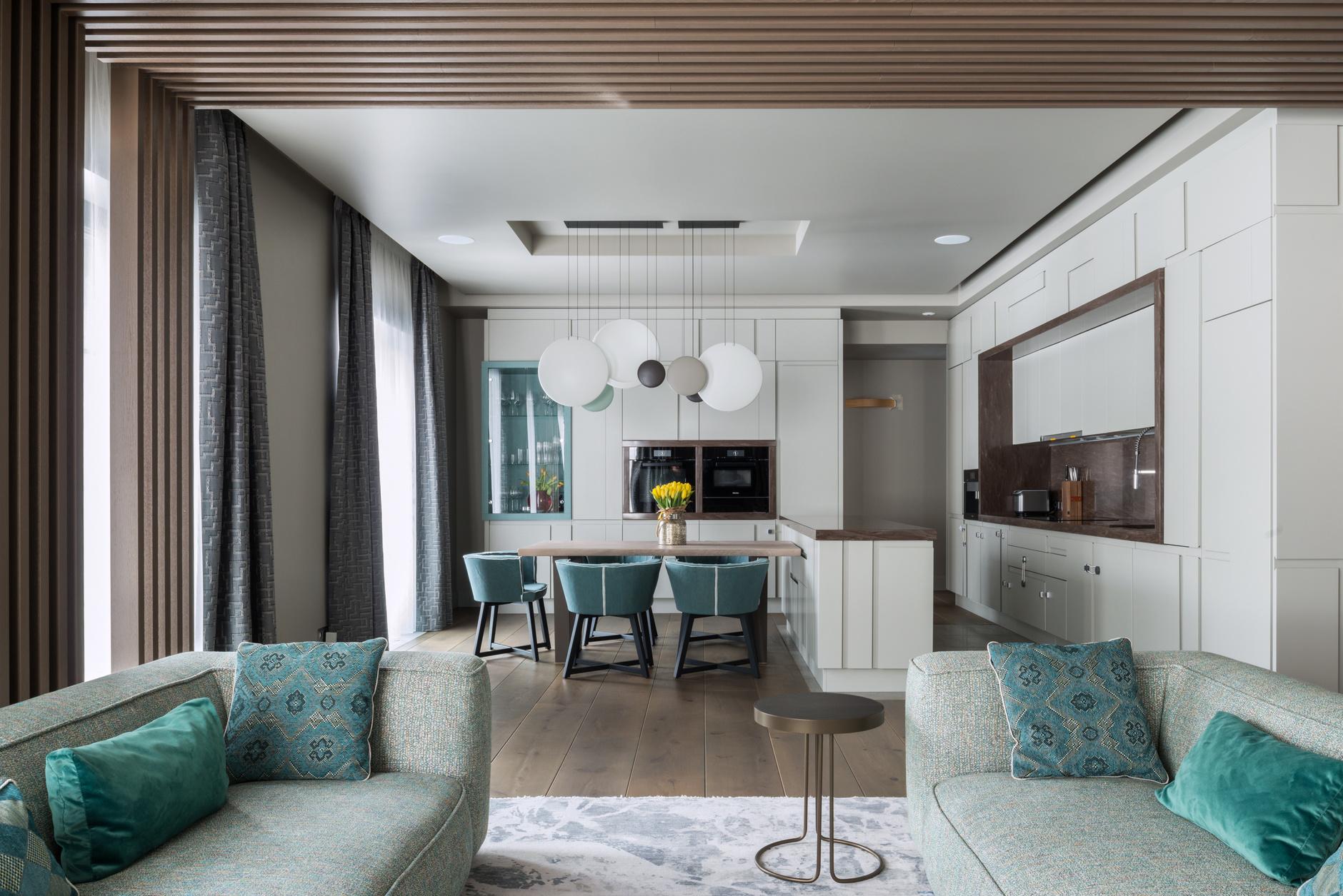 Дизайн кухни-гостиной: 30+ примеров (галерея 1, фото 4)