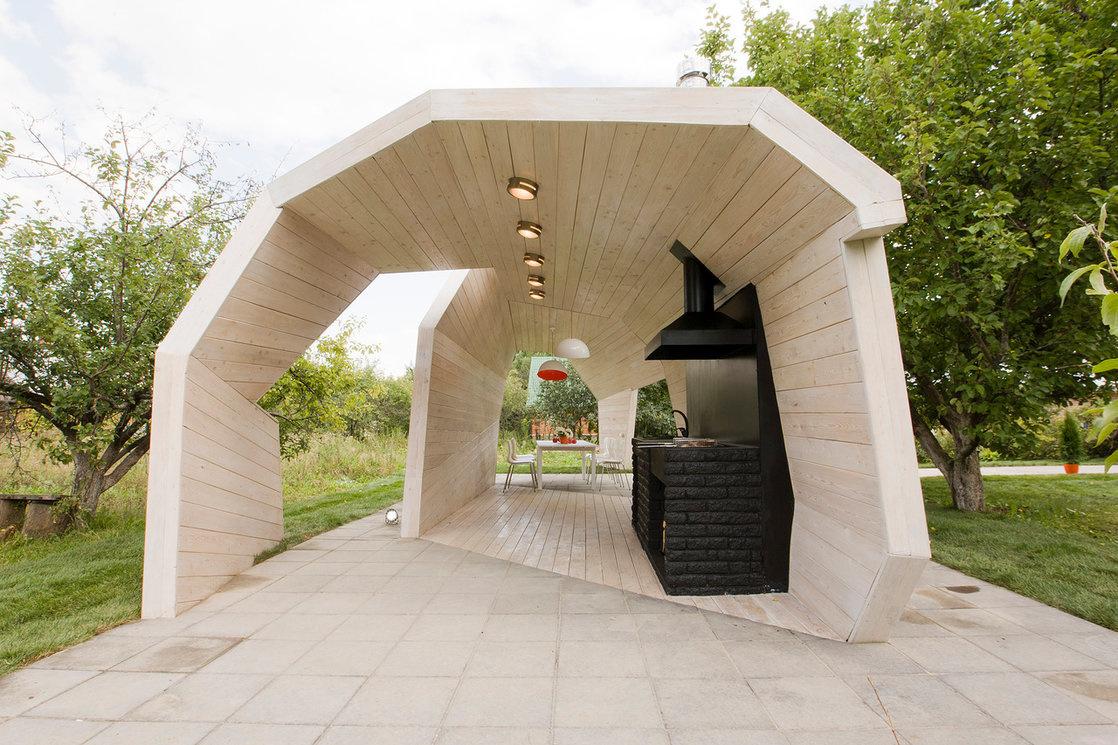 Беседки и павильоны для дачи от российских архитекторов (галерея 11, фото 0)