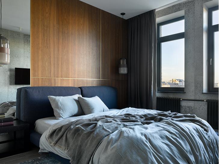 Брутальная квартира 78 м² с элементами минимализма (фото 12)